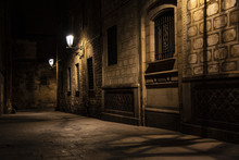 Evening Street Shadows