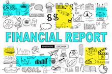 Financial Report Concept With ...