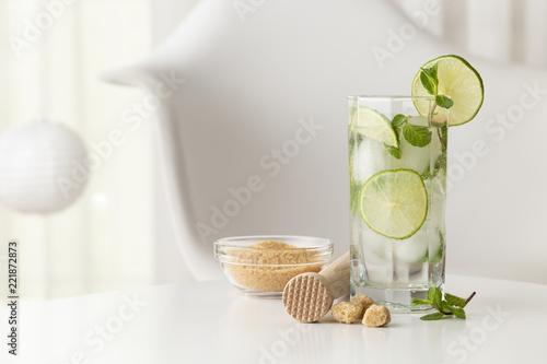 Foto op Plexiglas Cocktail Mojito cocktail