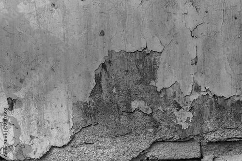 Foto auf AluDibond Alte schmutzig texturierte wand texture