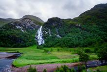 Scotland - Steall Falls - Ben ...