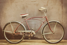 Vintage Rusted Cruiser Bicycle...
