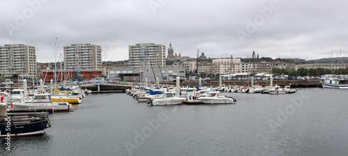 Tuinposter Poort Port de Boulogne Sur Mer
