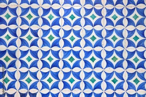 Lisbon azulejos pattern