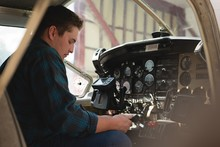 Engineer Operating Cockpit