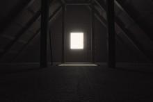 3d Rendering Of Darken Empty A...