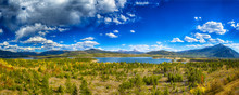 Panorama Of Dillon Reservoir In Summit County, Colorado