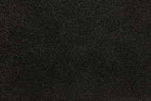 Black Synthetic Sponge Texture For Background