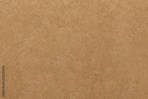 obraz lub plakat Light brown kraft paper texture for background