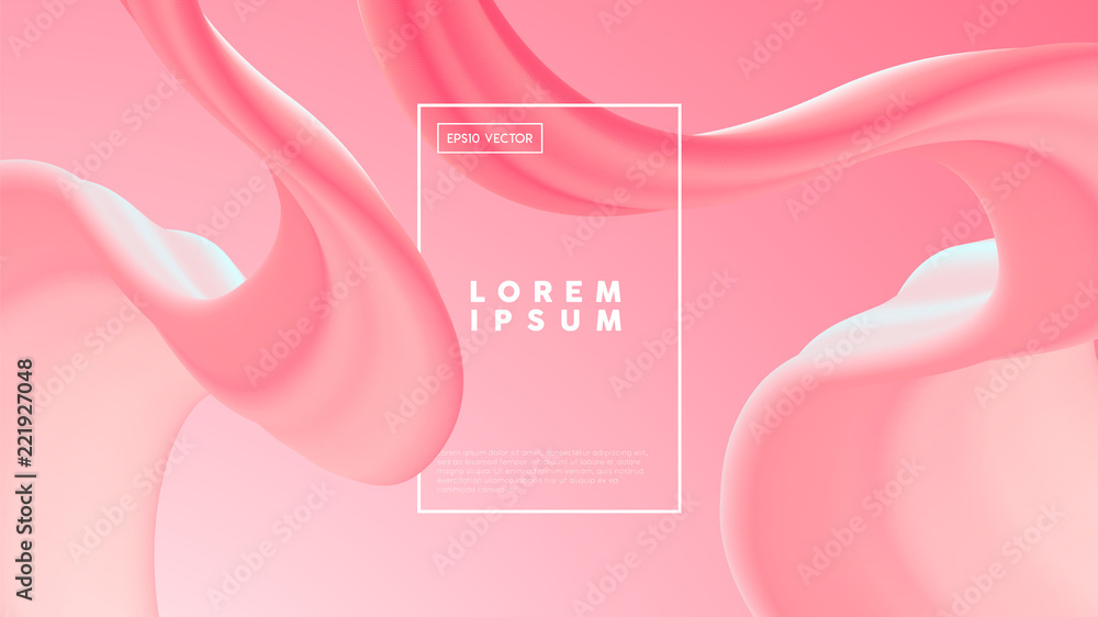 Fototapety, obrazy: Abstract pink gradient background template