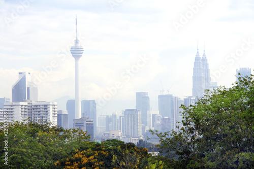 Foto op Aluminium Kuala Lumpur View of Kuala Lumpur, Malaysia