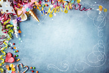 Decorative Carnival Party Background