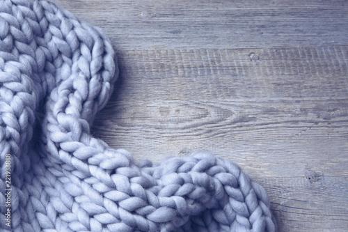 Obraz Merino wool blanket - fototapety do salonu