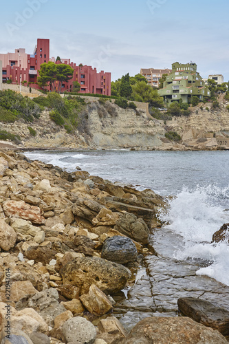 Foto  Spanish mediterranean coastline in Alicante