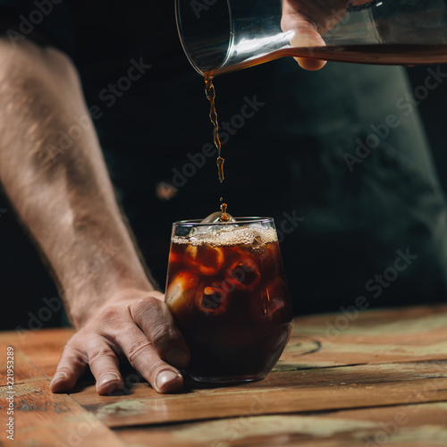 Cold Brew Coffee Poster Mural XXL