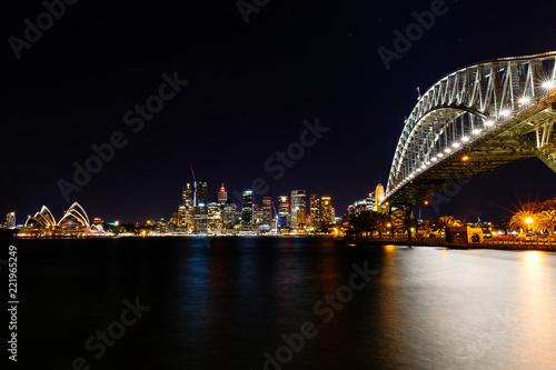 Poster Oceanië Sydney City, Australie