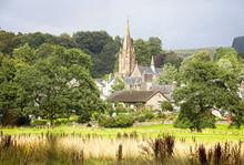 St Mary's Church Across The Fi...