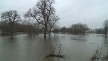 River Way Over Its Banks During Mississippi 2011 Floods