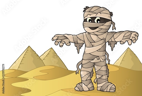 Mummy theme image 2