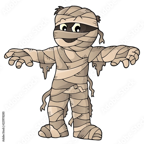 Mummy theme image 1