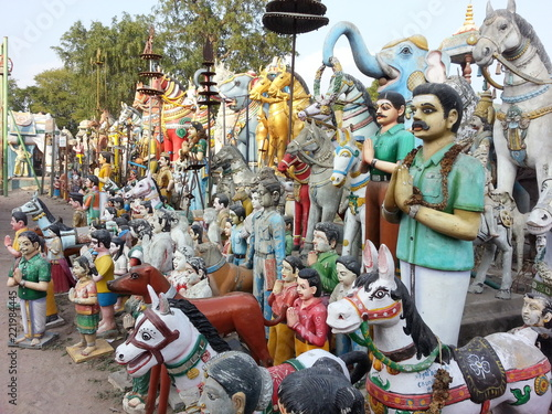Photo  Temples and idols of India