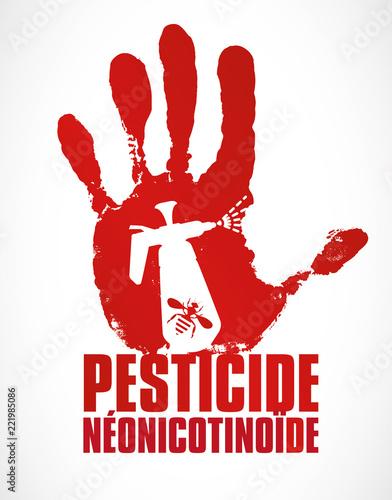 néonicotinoîde - pesticide qui tue les abeilles Canvas Print