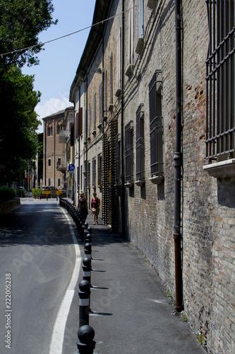 Rimini city streets, Italy