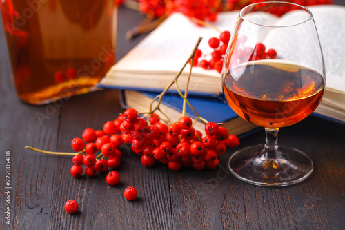 Photo  Alcohol free homemade berry cordial