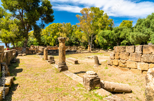 Staande foto Afrika Ruins of Tipasa, a Roman colonia in Algeria, North Africa