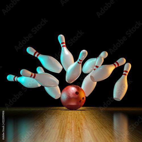 Fotografia image of bowling action