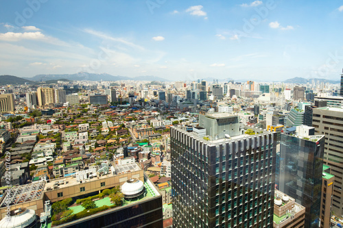 Photo  View Over Seoul