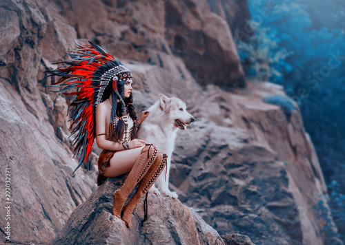 native-american-indian-kobieta
