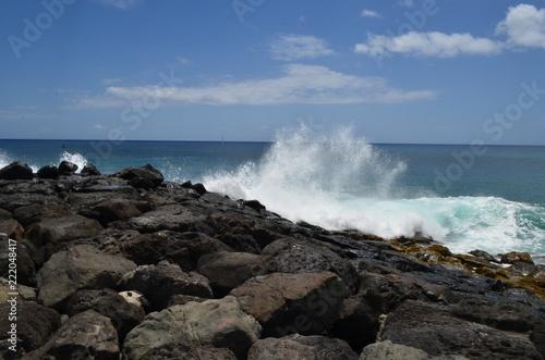 Photo  Crashing Wave on Right