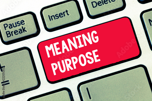 Photo  Handwriting text writing Meaning Purpose