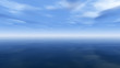 Leinwanddruck Bild Beautiful sea and clouds sky