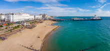 Aerial View Of Eastbourne In S...