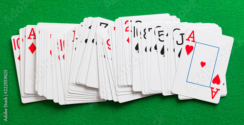 фотография  Playing Cards Spread Out