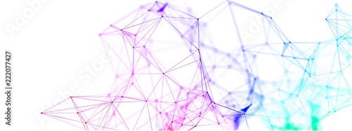 network Fototapet