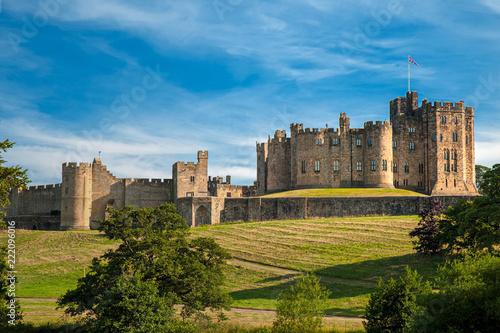 Canvastavla Castello di Alnwick