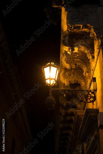 Poster de jardin Paris lamp italy