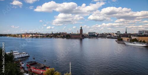 Photo  Panorama of  Stockholm