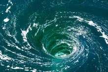 A Powerful Whirlpool Is Genera...