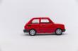 Samochód zabawka czerwony fiat 125p