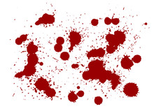 Abstract Background With Red Blood Splatters
