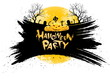 Leinwandbild Motiv Halloween Party Background