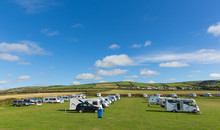 Motorhomes And Campervans Park...