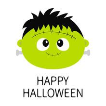 Happy Halloween. Frankenstein ...
