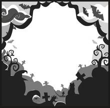 Halloween Border For Design Wi...