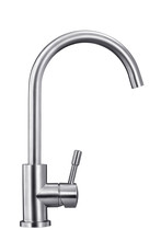 Lead-free Stainless Steel Faucet Still Life Photography White Background