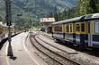 interlaken railway in switzerland